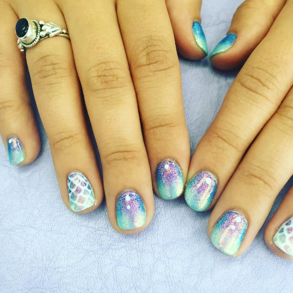 - Mermaid Nail Art Ideas POPSUGAR Beauty