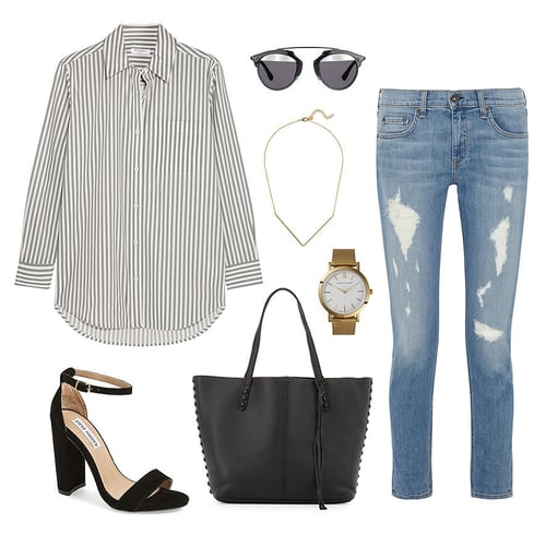 #OOTD | Casual Office Outfit Inspiration