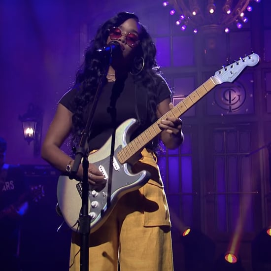 "Watch H.E.R. Perform ""Damage"" and ""Hold On"" on SNL 