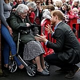 Prince Harry Visits Lancashire Pictures October 2017
