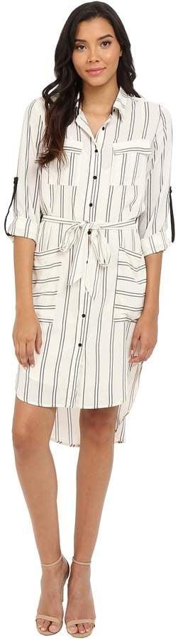 Adelyn Rae Stripe Shirt Dress