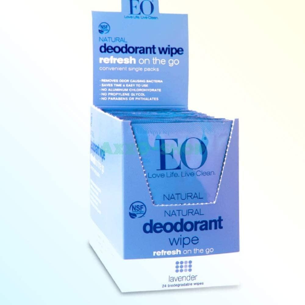 Eo Deodorant Wipe in Lavender