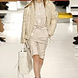 She Also Wore These Slick-Looking, Neutral Separates