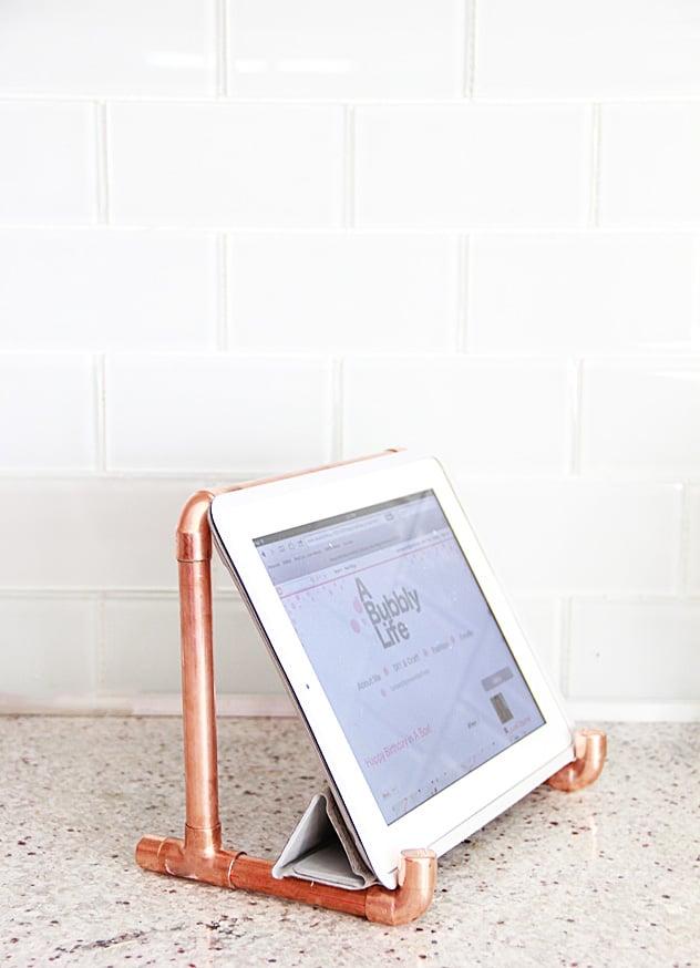 Pipe iPad Holder
