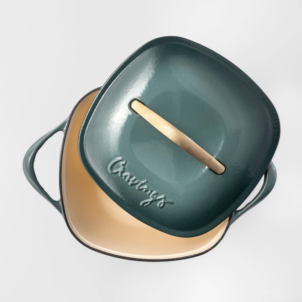 Cravings by Chrissy Teigen Cast Iron Enameled Dutch Oven With Lid