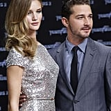 Rosie Huntington-Whiteley and Shia LaBeouf in Berlin.