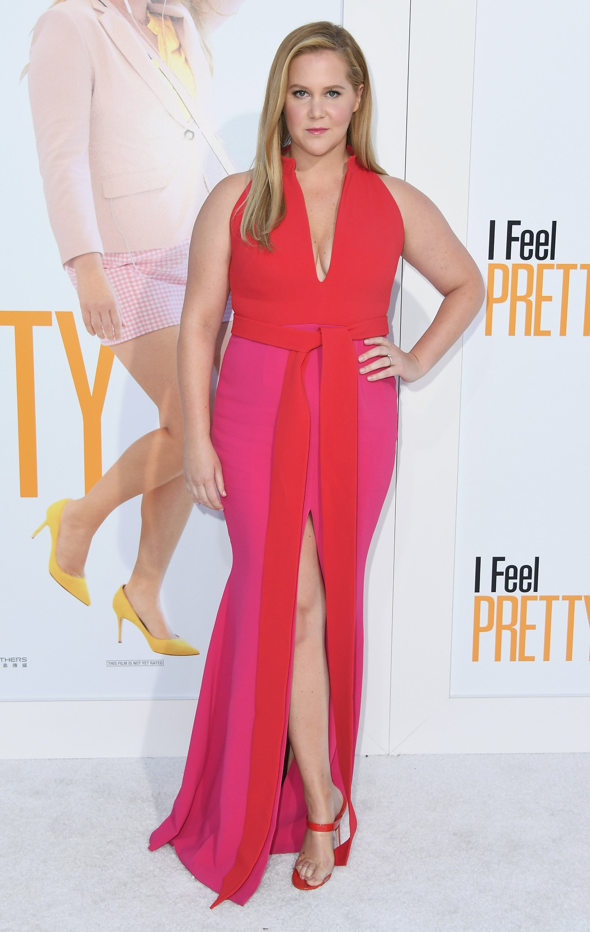 WESTWOOD, CA - APRIL 17:  Amy Schumer attends the premiere of STX Films'