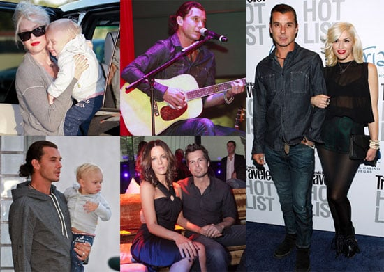 Pictures of Gwen Stefani and Gavin Rossdale With Son Zuma in LA, Kate Beckinsale and Len Wiseman in Las Vegas
