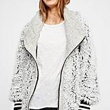 Free People Fluffy Dolman Jacket