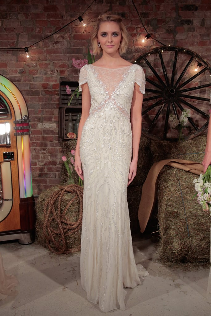 bda71faf37 1920s Flapper-Style Wedding Dresses by Jenny Packham