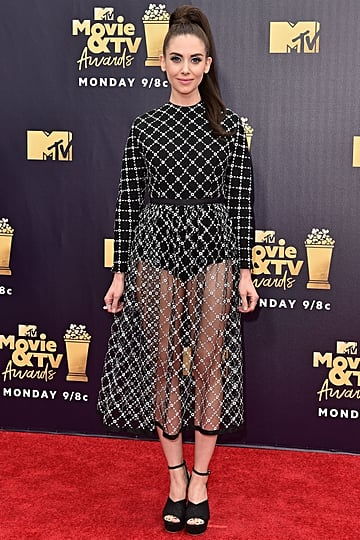 Alison Brie's Red Carpet Looks