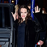 Angelina Jolie at Asia Society in NYC December 2017