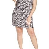 Leith Snakeprint Minidress