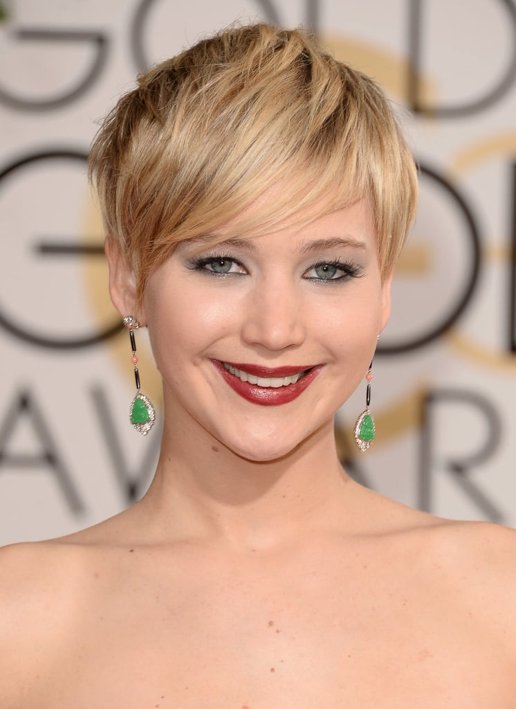 Jennifer Lawrence Red Carpet Hair and Makeup Pictures