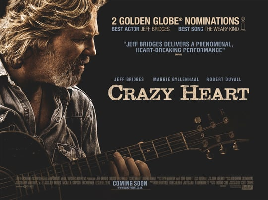 Watch Trailer For Crazy Heart Starring Jeff Bridges, Maggie Gyllenhaal, Colin Farrell 2010-02-18 08:00:00