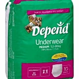 Depend on Adult Diapers