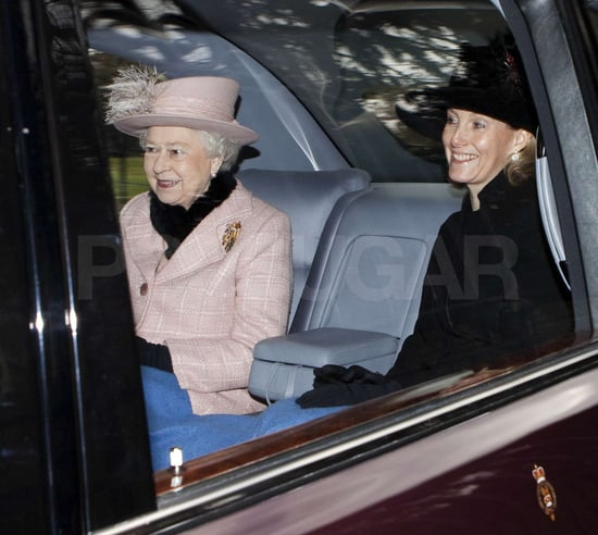 Pictures of Royals at Church Service Celebrating Autumn and Peter Phillips' Daughter Who Is Called Savannah