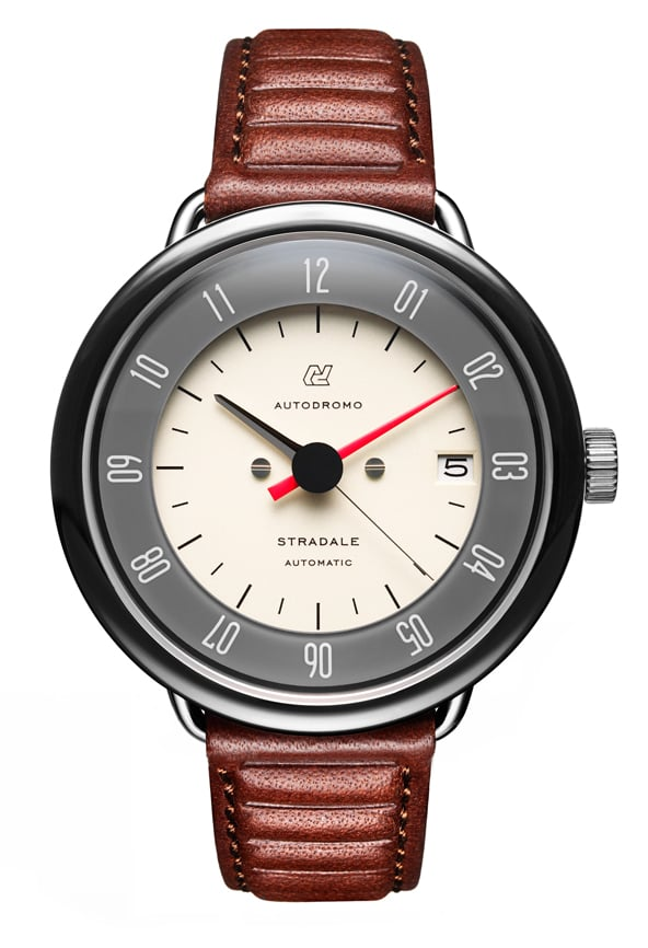 Sure, it might be a hefty price to pay, but the Autodromo Stradale Automatic Cream Dial Watch ($875) is inspired by the mechanics of a race car — and that's straight up awesome.