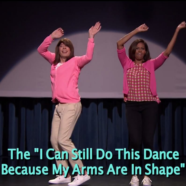 Michelle Obama And Jimmy Fallon S Evolution Of Mom Dancing 2