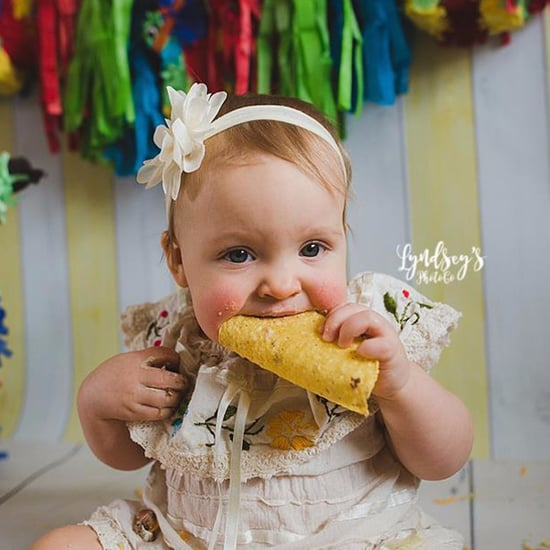 Baby's Taco Smash Photoshoot