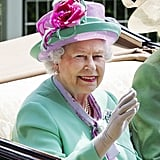 Queen Elizabeth II on Day 2