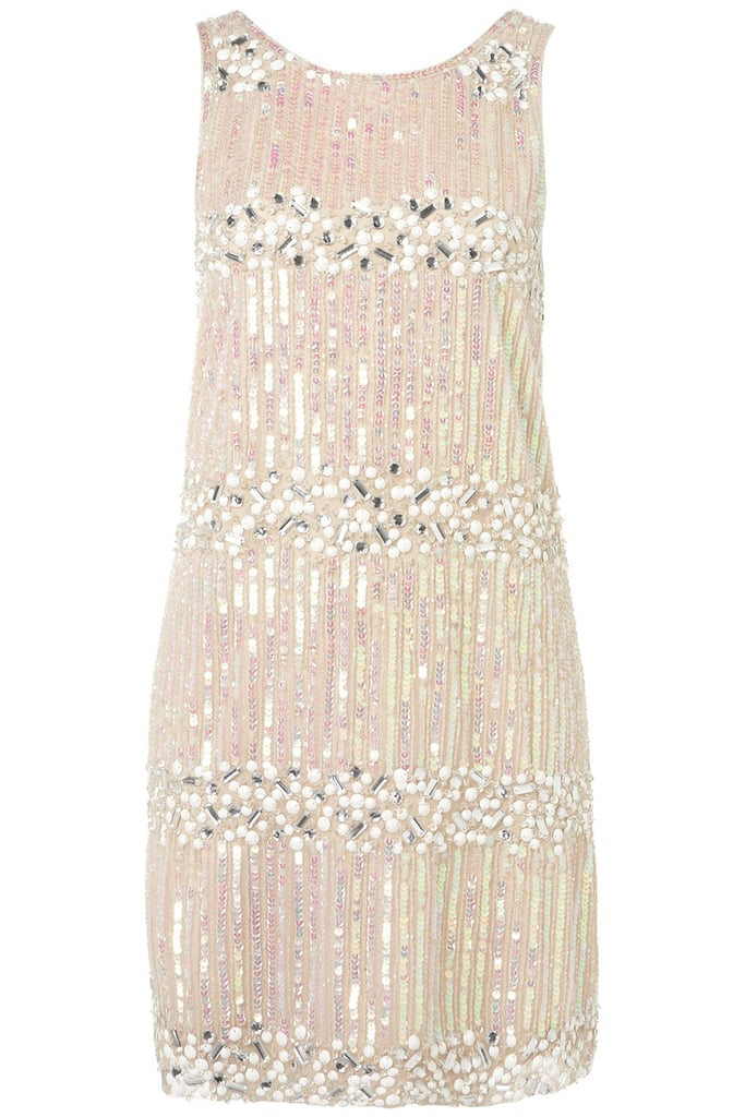 Channel a '20s-era flapper girl in this dazzling dress. Topshop Sequin Stripe Shift Dress ($150)