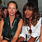 Christy Turlington and Naomi Campbell