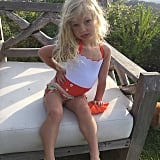 Jessica Simpson caught this beautiful shot of her little girl, Maxwell Drew. That hair! Those eyes! The hand on the hip! It's all too much for us.