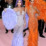 Kylie Jenner and Travis Scott at the 2019 Met Gala