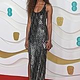 Naomie Harris at the 2020 BAFTAs in London