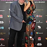 Kyle Sandilands and Imogen Anthony