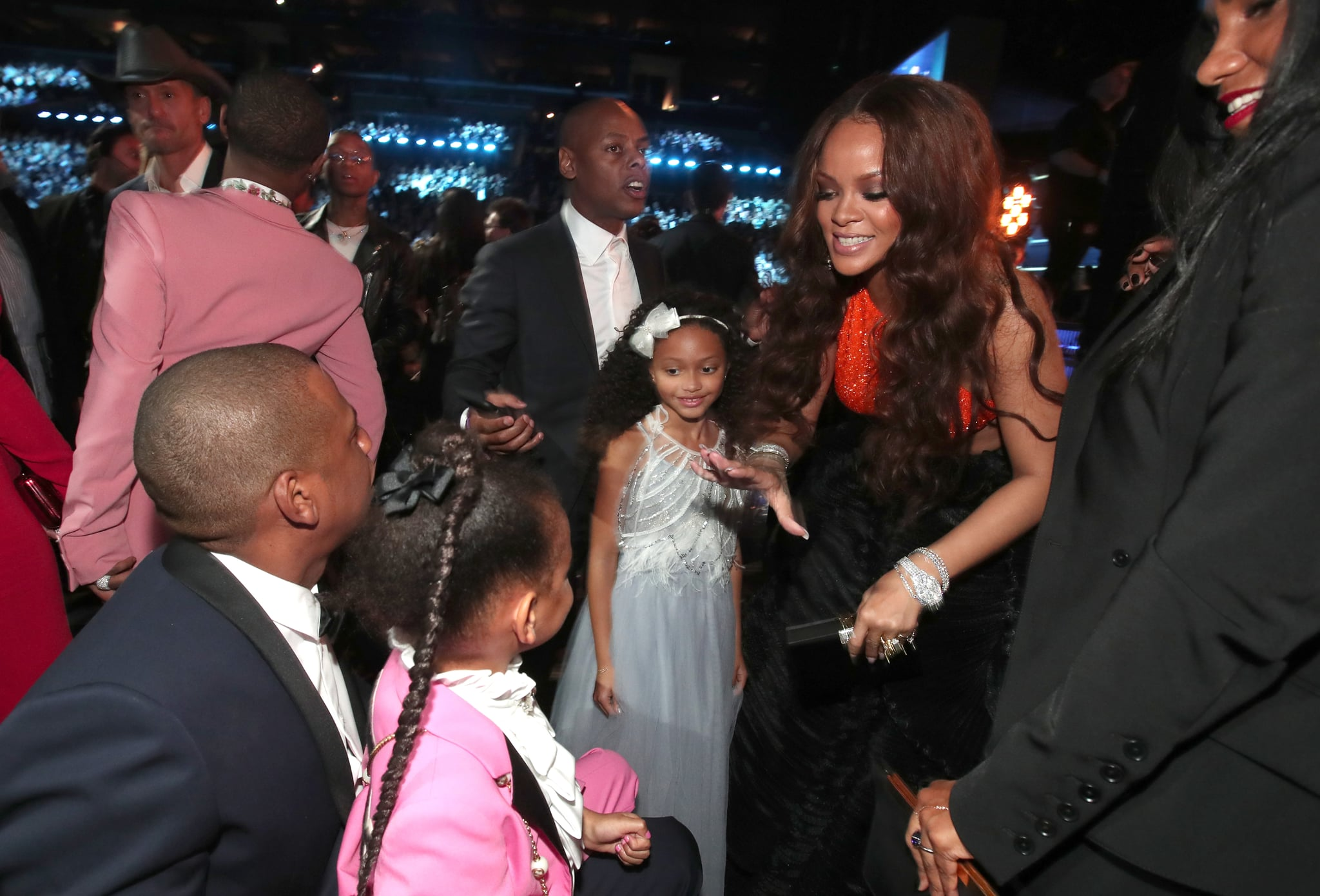 Cute Pictures Of Rihanna And Blue Ivy Carter Popsugar