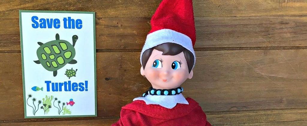 Mom's VSCO Girl Elf on the Shelf Idea