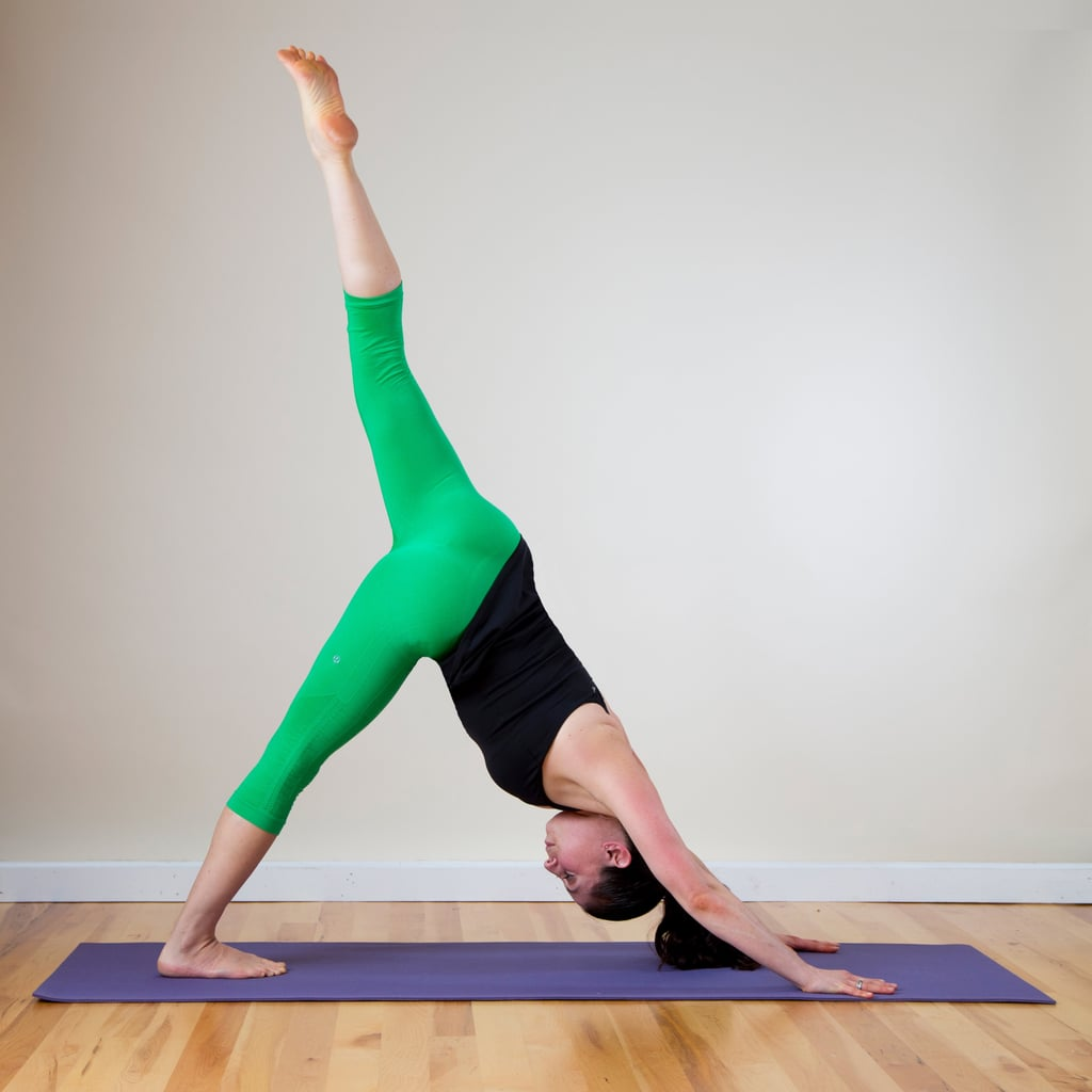 Three-Legged Downward Facing Dog Pose