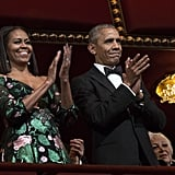 Barack and Michelle Obama Kennedy Centre Honours Dec. 2016