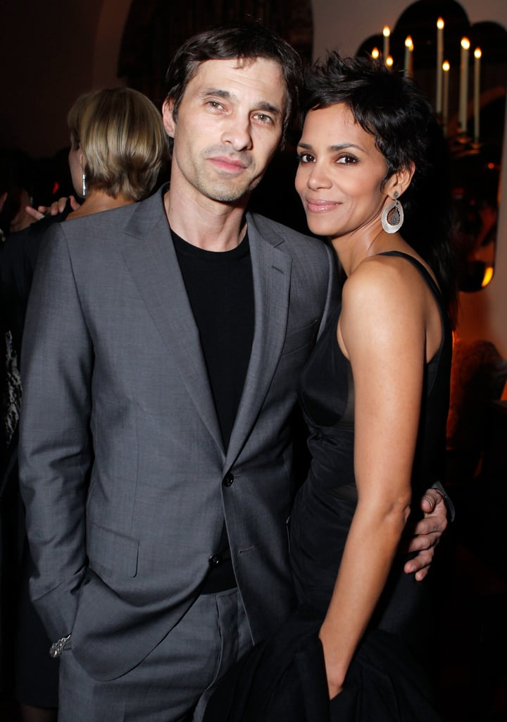 Olivier Martinez and Halle Berry were together in February ... холли берри
