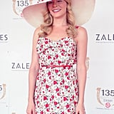 LeAnn Rimes smiled bright in a blooming dress at the 135 Kentucky Derby in 2009.