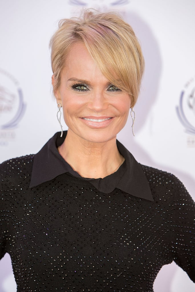 Kristin Chenoweth recently cut her hair into a short, sweet pixie cut.