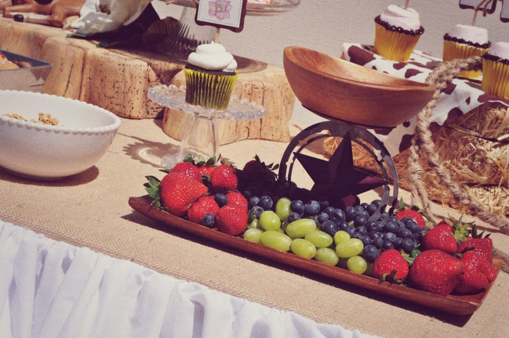 Rustic Fruit Display