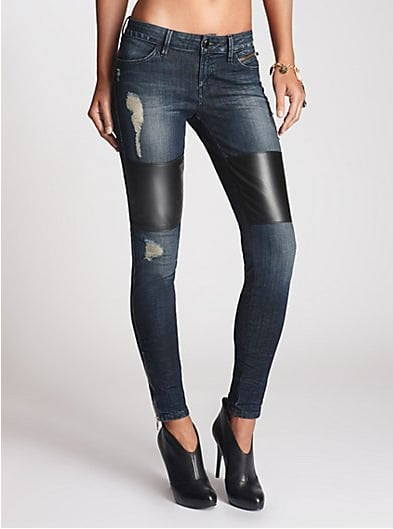 Leather and Denim