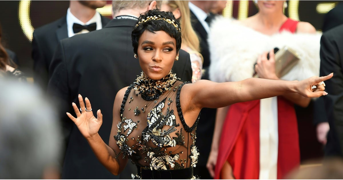 Just 10 Photos of Janelle Monáe Having the Time of Her Damn Life at the Oscars