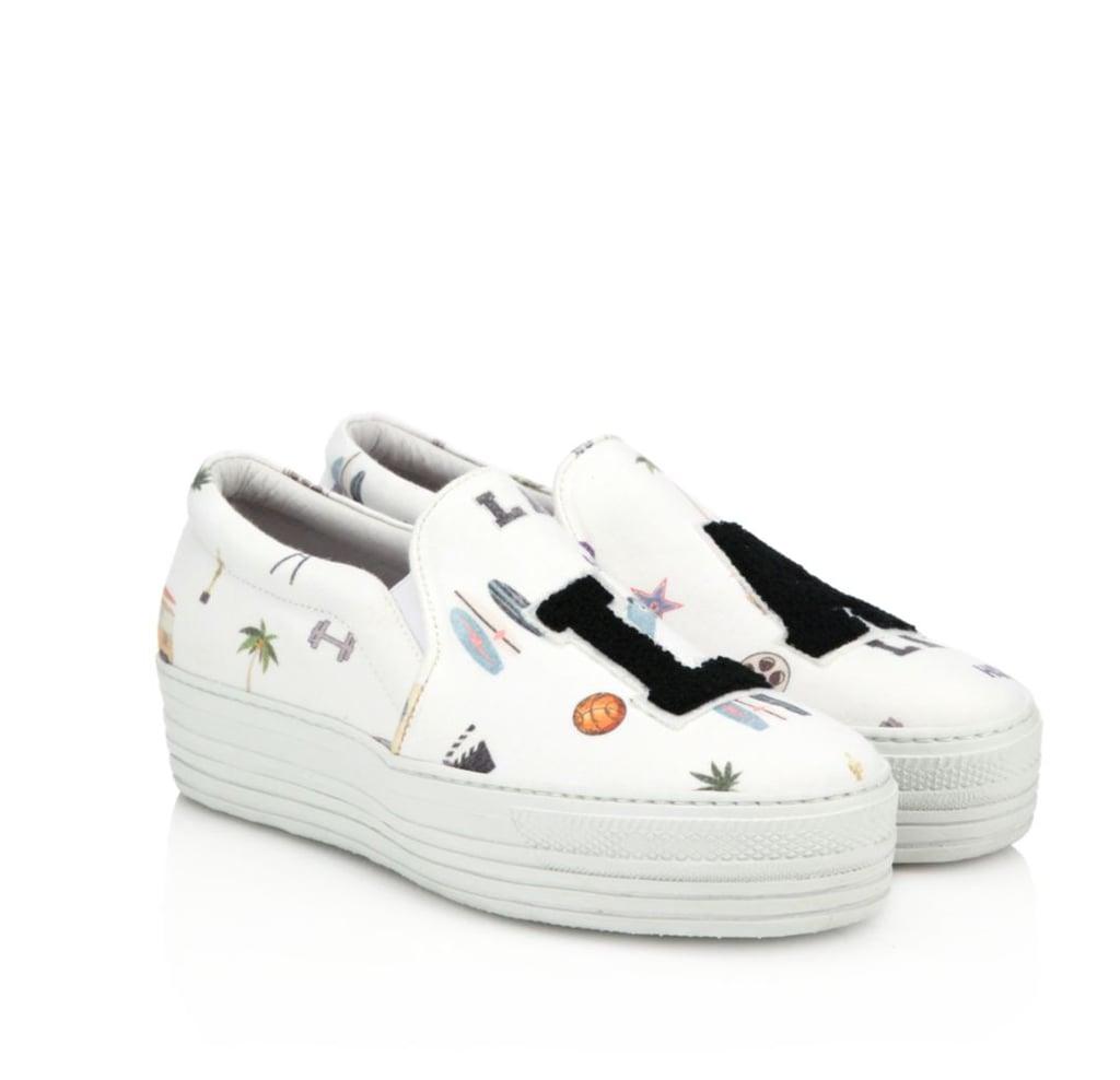Joshua Ponceuses La Slip-on Chaussures De Sport - Blanc mmJ5CY36I5