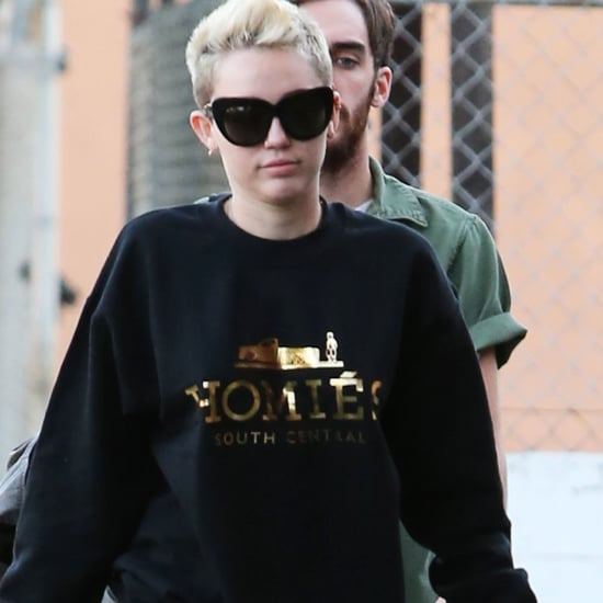 Miley Cyrus Out in LA With Her Newest Dog | Pictures
