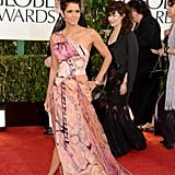 Halle Berry at the Golden Globes 2013 (Pictures)