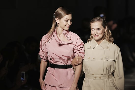 Gigi Hadid Escorted Lauren Hutton Down The Runway And It Was Oh-So-Gorgeous