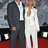 Nick Lachey and Jessica Simpson, 2003