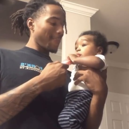 Instagram Video of Baby Trying to Grab Dad's Popsicle