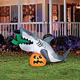 """Caught by a Shark"" Halloween Inflatable"