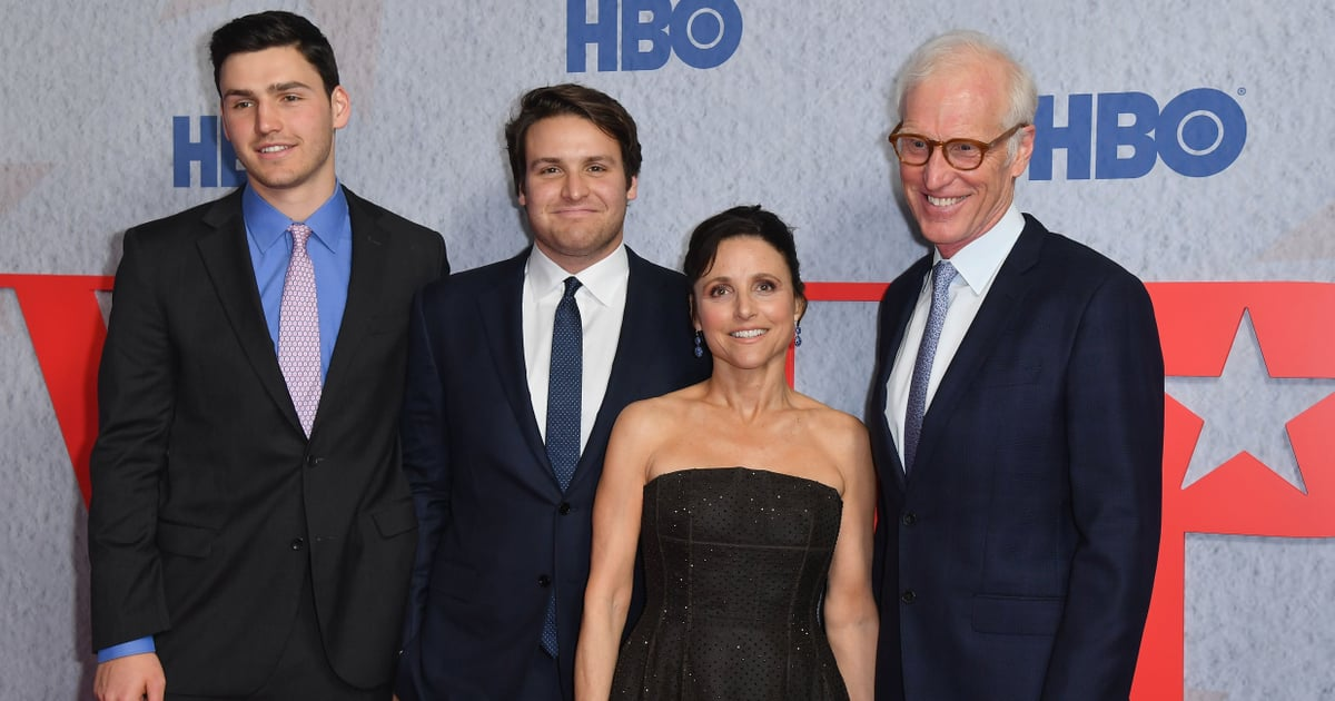 Julia Louis Dreyfus And Her Kids Look Like The First Family