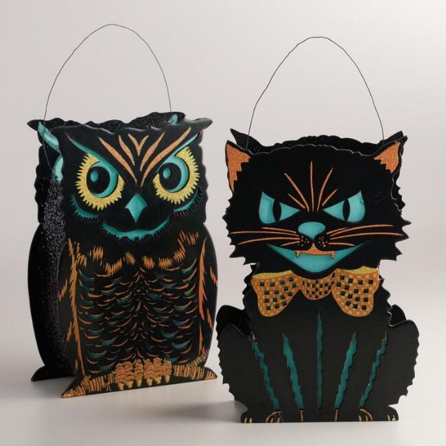Vintage Halloween Lanterns